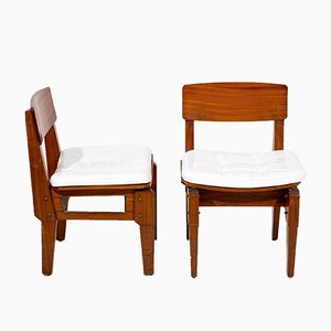 Mid-Century Italian Dining Chairs by Vito Sangirardi, Set of 6