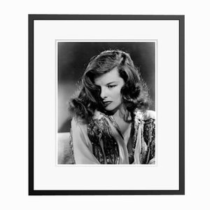 Katharine Hepburn the Philadelphia Story in Black Frame by Everett Collection