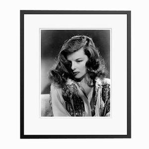 Katharine Hepburn the Philadelphia Story in schwarzem Rahmen von Everett Collection