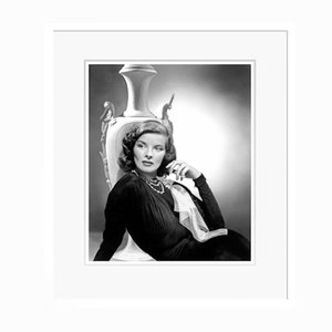 Katharine Hepburn in White Frame by Everett Collection
