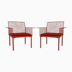 Garden Chairs from Evoluzione, 1980s, Set of 2