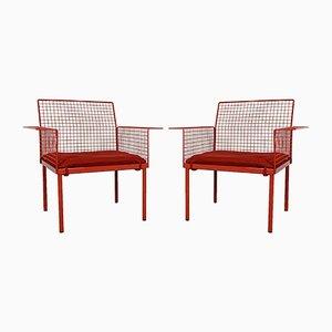 Gartenstühle von Evoluzione, 1980er, 2er Set