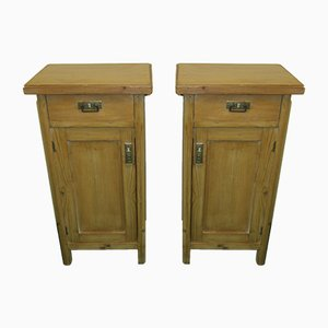 Scandinavian Nightstands, 1930s, Set of 2