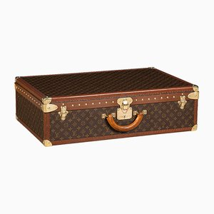 Vintage French Monogrammed Trunk from Louis Vuitton, 1970s