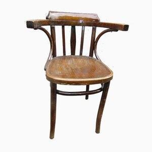 Silla de escritorio vintage de Thonet-Radomsko, años 50