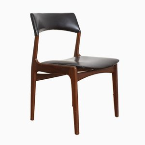 Mid-Century Dutch Teak Dining Chairs from Mahjongg Vlaardingen, 1950s, Set of 4