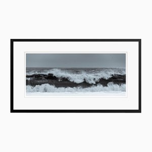 Black Sea Oversize Archival Pigment Print Framed in White by Tim Graham