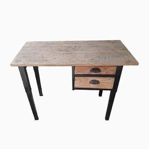 Small Vintage Pine Desk
