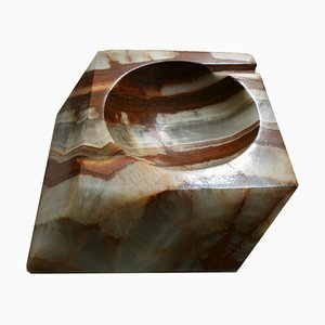 Industrial Spanish Onyx Ashtray, 1970s