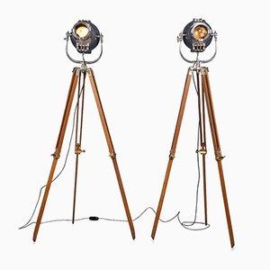 Lámparas de teatro británicas de Strand Lighting, años 60. Juego de 2