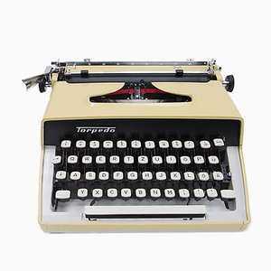 Travel Typewriter from Torpedo, 1960s