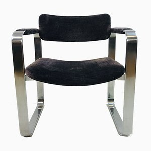 Silver Armchair by Eero Aarnio for Mobel Italia, 1970s