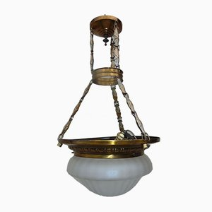 Antique Brass Ceiling Lamp