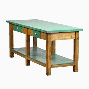 Pine Farmhouse Table, 1940s