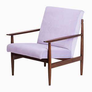 Mid-Century Czechoslovakian Armchairs from Thonet, 1960s, Set of 2