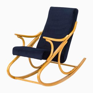 Czechoslovakian Rocking Chair from TON, 1960s