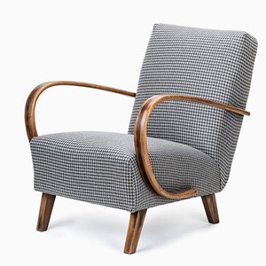 Czechoslovakian Armchair by Jindřich Halabala for UP Závody, 1950s