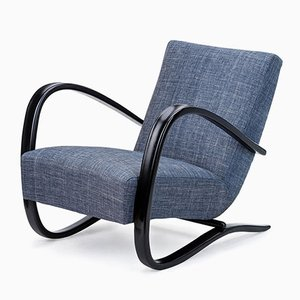 Czechoslovakian Model H269 Armchair by Jindřich Halabala for UP Závody, 1930s