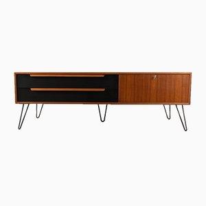 Teak Furnier Sideboard von WK Möbel, 1960er