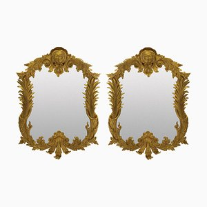 George III Style Giltwood Mirrors, 1950s, Set of 2