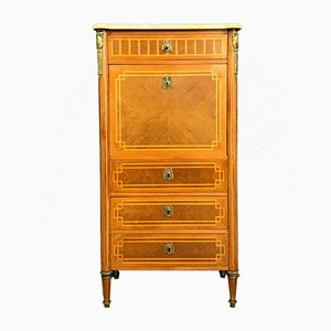 Louis XVI French Inlaid Wood Secretaire