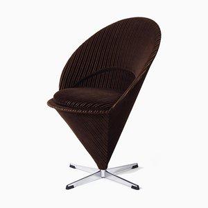 Dänischer Cone Chair K1 von Verner Panton, 1960er