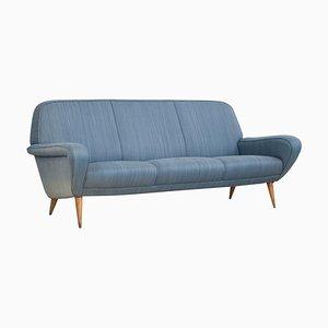 Model 830 3-Seat Sofa by Gianfranco Frattini for Cassina, 1950s