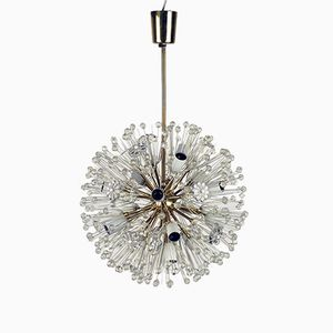 Snowball Sputnik Chandelier by Emil Stejnar for Rupert Nikoll