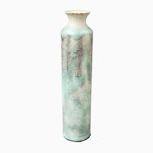 Small Mid-Century Italian Ceramic Bottle by Bruno Gambone, 1970s