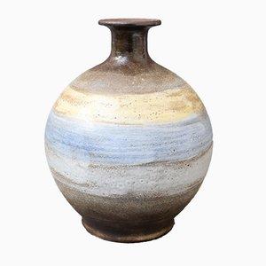 Mid-Century French Ceramic Vase by Alexandre Kostanda, 1960s