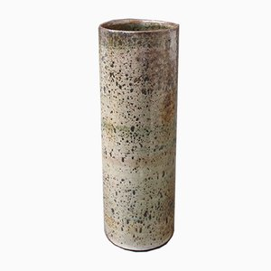 Mid-Century French Ceramic Vase by Jacques Pouchain, 1960s