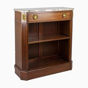 Antique Louis XVI Style Bookshelf in Mahogany, 1900s