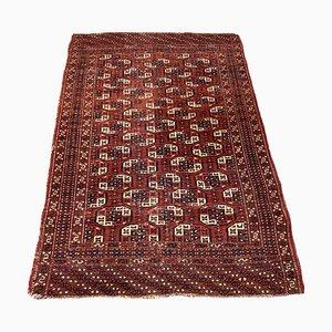 Alfombra turca antigua tejida a mano