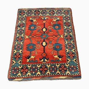 Vintage Hand-Knotted Afghan Kargai Rug