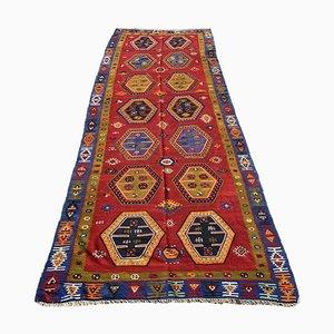 Alfombra Kilim Sarkisla turca antigua