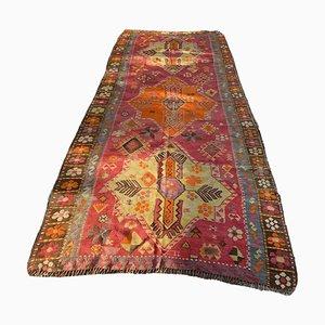 Antiker Türkischer Sivas Kelim Teppich