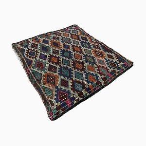 Türkischer Vintage Kelim Wollteppich aus Wolle