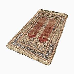 Antiker türkischer beige Kayseri Teppich