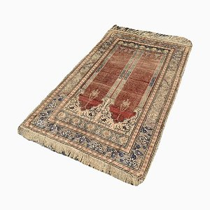 Antique Turkish Beige Kayseri Rug
