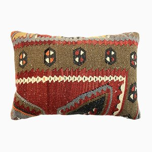 Large Turkish Handmade Kilim Cushion Cover