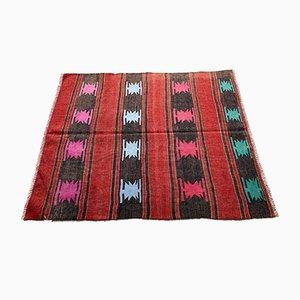 Vintage Turkish Traditional Wool Kilim Rug
