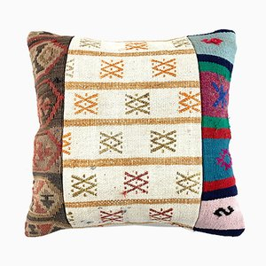 Vintage Turkish Anatolian Kilim Cushion Cover