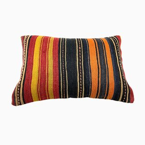 Large Vintage Turkish Kilim Cushion Cover