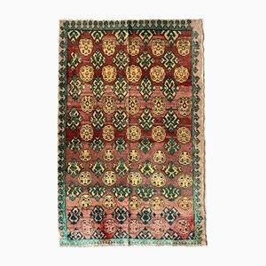Vintage Turkish Oriental Handmade Wool Carpet