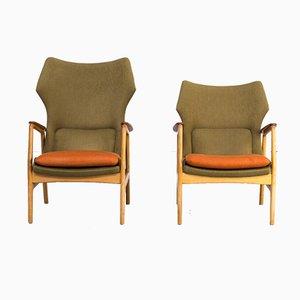 Karen & Edith Armlehnstühle von Aksel Bender Madsen für Bovenkamp, 1960er, 2er Set