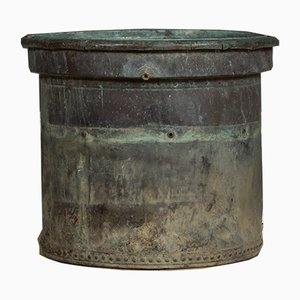 Antique French Copper Planter