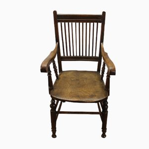 Oak Country Armchair, 1900s