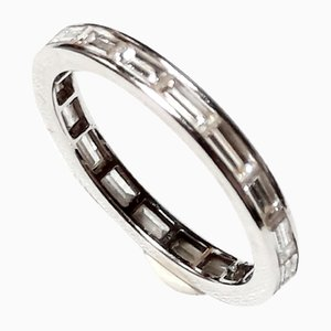 Platinum Eternity Ring, 1970s