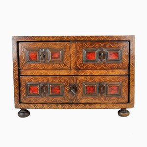 17th Century Spanish Walnut Cabinet