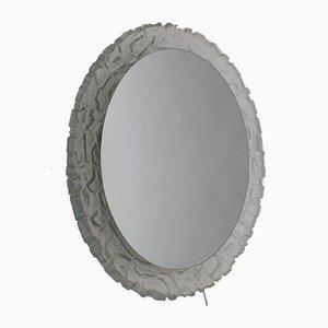 Beleuchteter Spiegel aus Acrylglas, 1970er